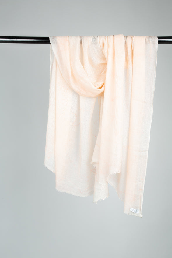 MANMA SCARF IN HAND-DYED CASHMERE