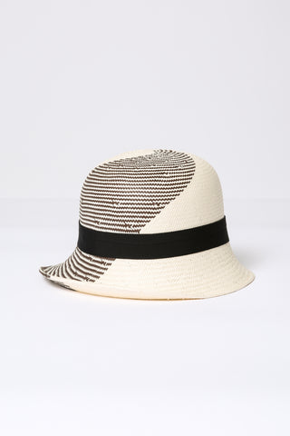 Cloche Straw Hat