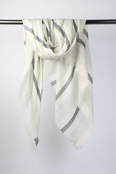 ANGES SCARF IN ITALIAN CASHMERE