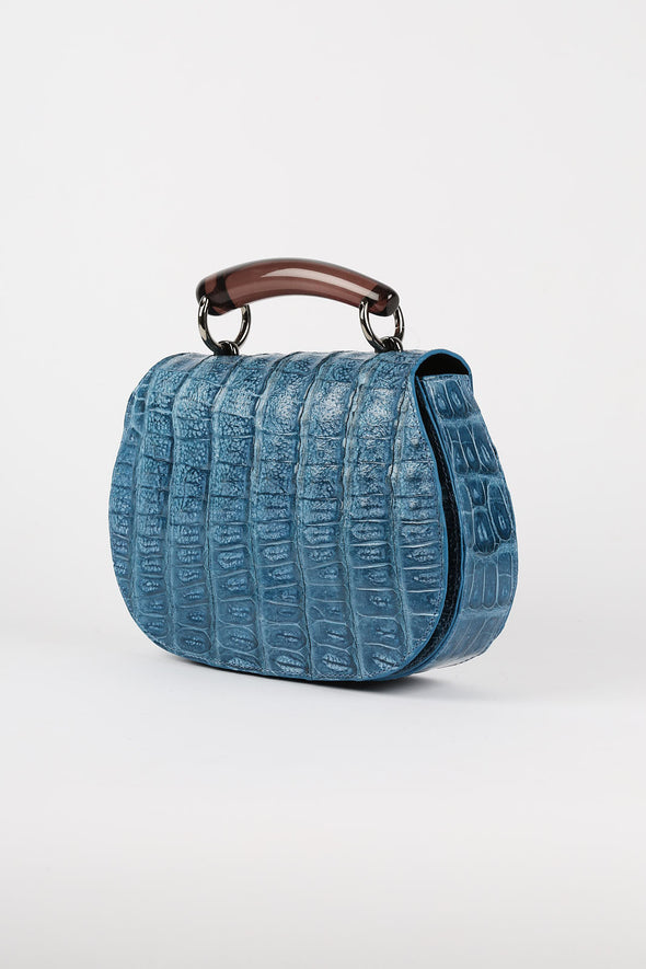 CAIMAN BAG IN LEATHER