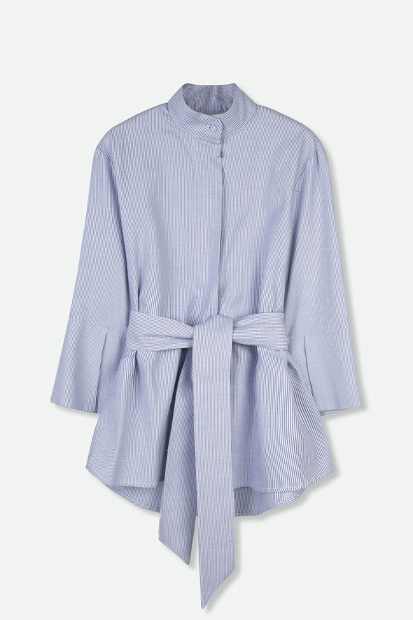 DELIA SHIRT IN STRETCH COTTON POPLIN