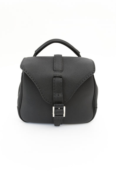 Buckle Front Saddle Bag