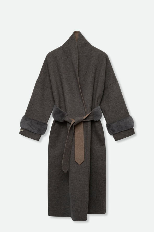 SUPREMA WOOL COAT