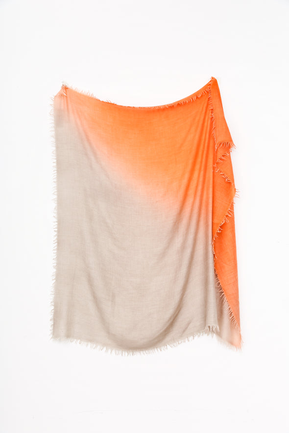 DORIS HAND-DYED SCARF IN ITALIAN CASHMERE