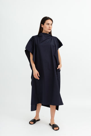 Sofie D'Hoore Diaz Sleeveless Cape Dress