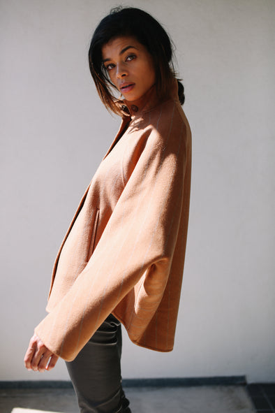 KIANA COAT IN DOUBLE-FACED WOOL