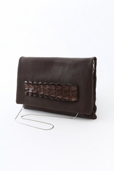 BARLETTA CLUTCH IN LEATHER