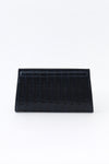 BERGAMO CLUTCH IN CROC LEATHER