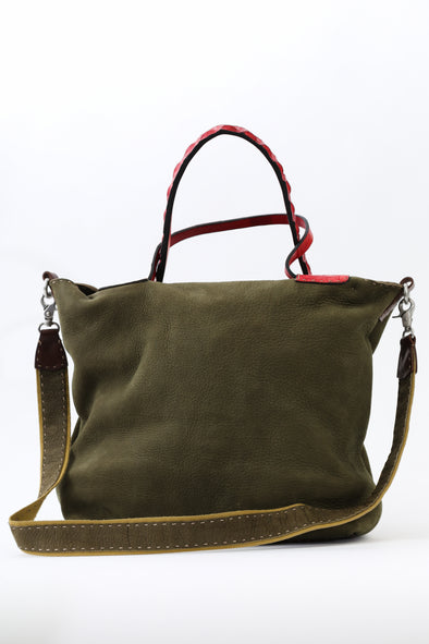 MESSINA TOTE IN ITALIAN LEATHER