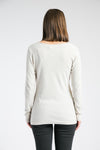 Long Sleeve Drape Tee