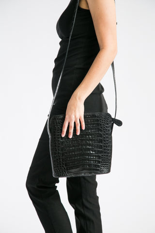 Messenger Bag with Zipper