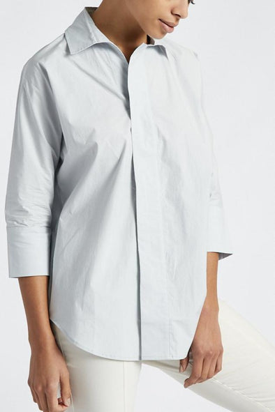 LUCILLE SHIRT IN COTTON POPLIN STRETCH