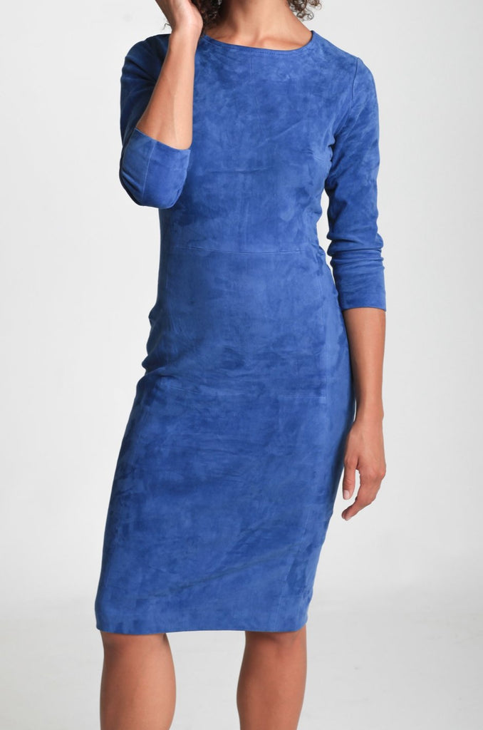 LS Suede Dress