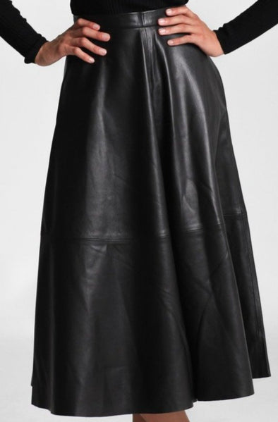 LILY SKIRT IN LEATHER