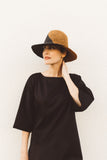 Two Tone Panama Straw Hat