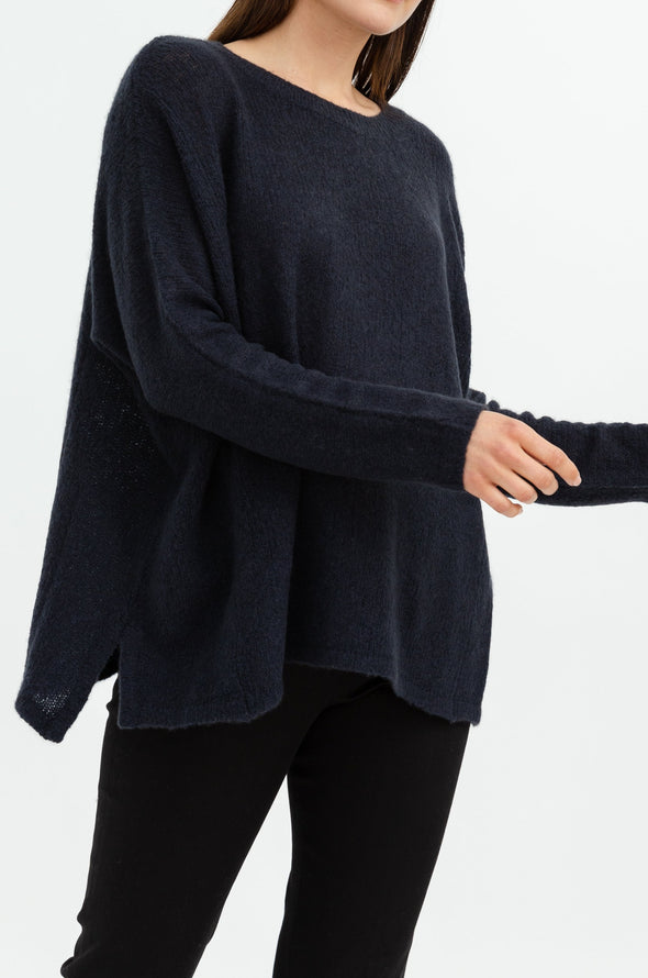 Open Neck Poncho