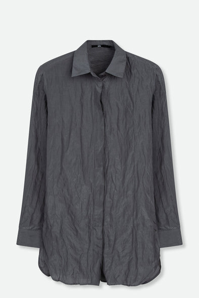 PERFECT SHIRT IN COTTON-SILK BLEND