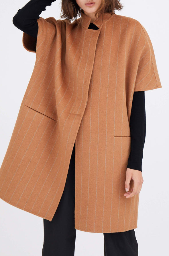 CLEO COAT IN DOUBLE-FACED WOOL