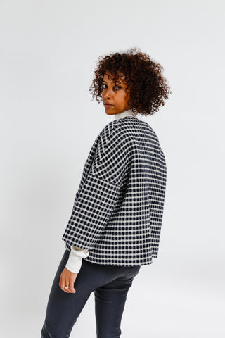 Reversible Crop Jacket
