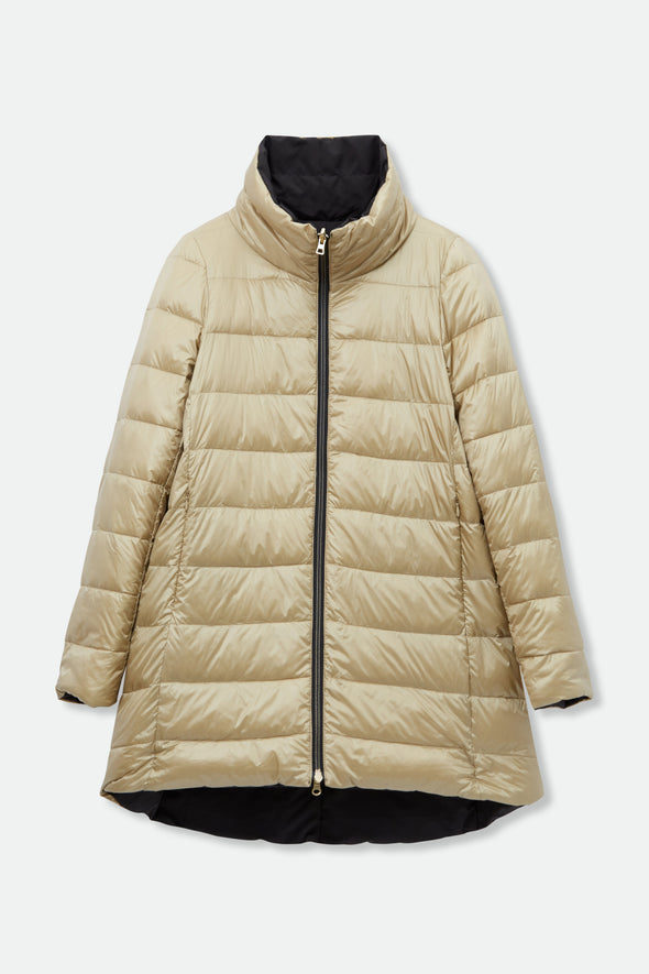 ZERMATT REVERSIBLE PARKA IN GOOSE DOWN