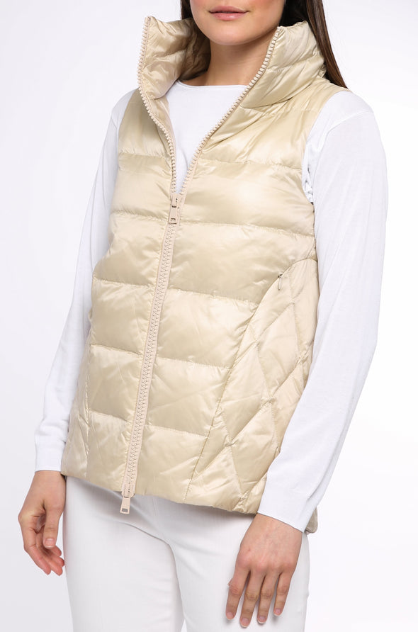 MURREN VEST IN GOOSE DOWN