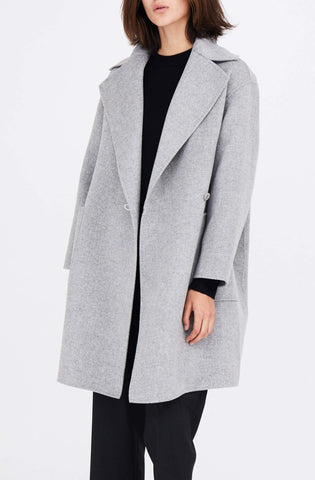 Side Button Coat