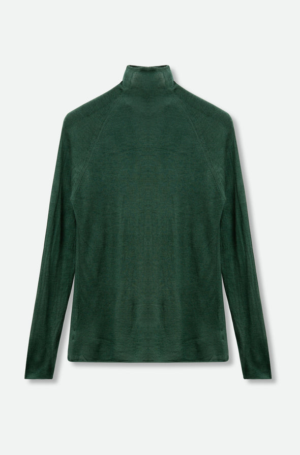 TAMIR TURTLENECK IN HAND-DYED CASHMERE