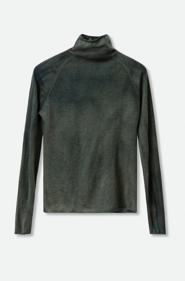 TAMIR HIGH NECK IN HAND-DYED CASHMERE