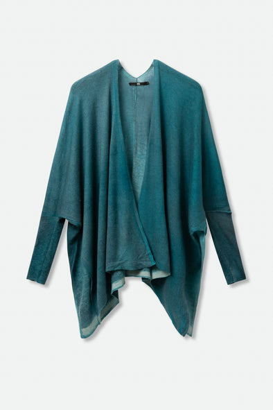 KASHMIR CARDIGAN IN HAND-DYED CASHMERE