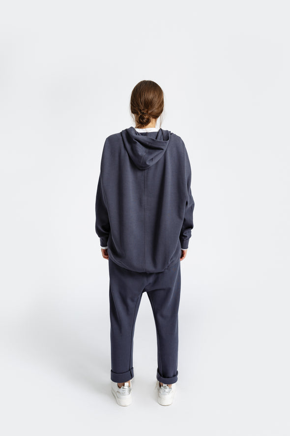 AVERY ZIP UP IN PIMA COTTON