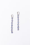 7 Stone Drop Earring