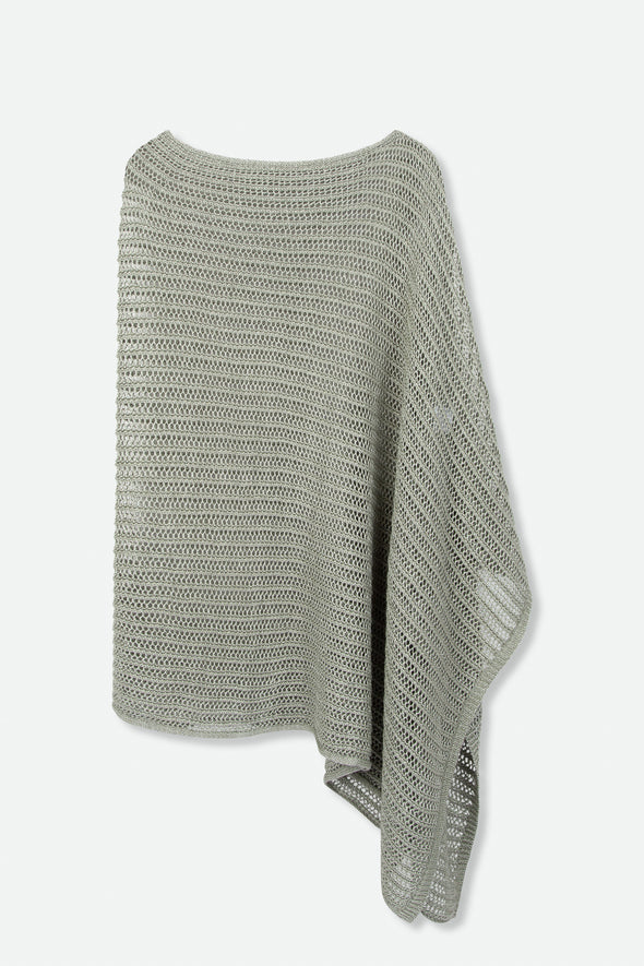 COLLETTE WRAP IN LINEN KNIT