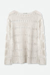 PALMA TOP IN LINEN KNIT
