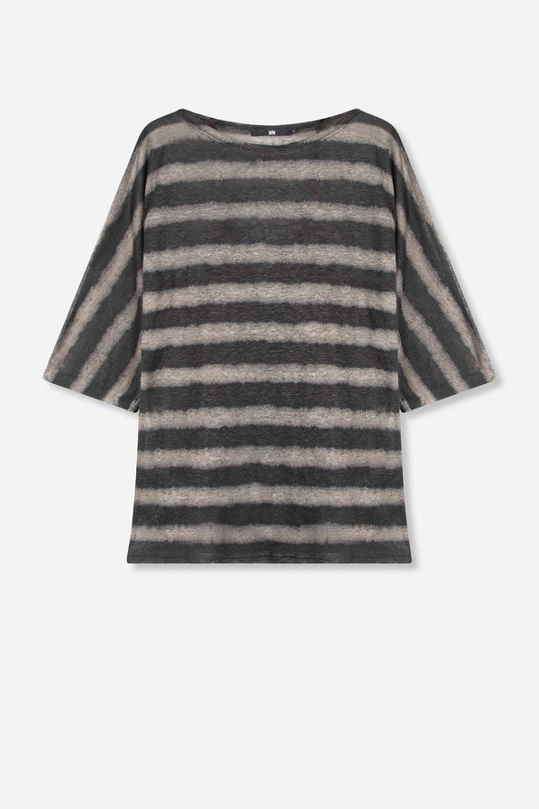 ALICANTE DOLMAN TOP IN LINEN KNIT