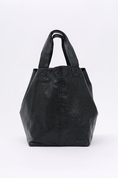 PEARL REVERSIBLE TOTE IN ITALIAN LEATHER