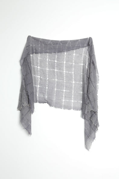 HOLLOW SCARF IN CASHMERE