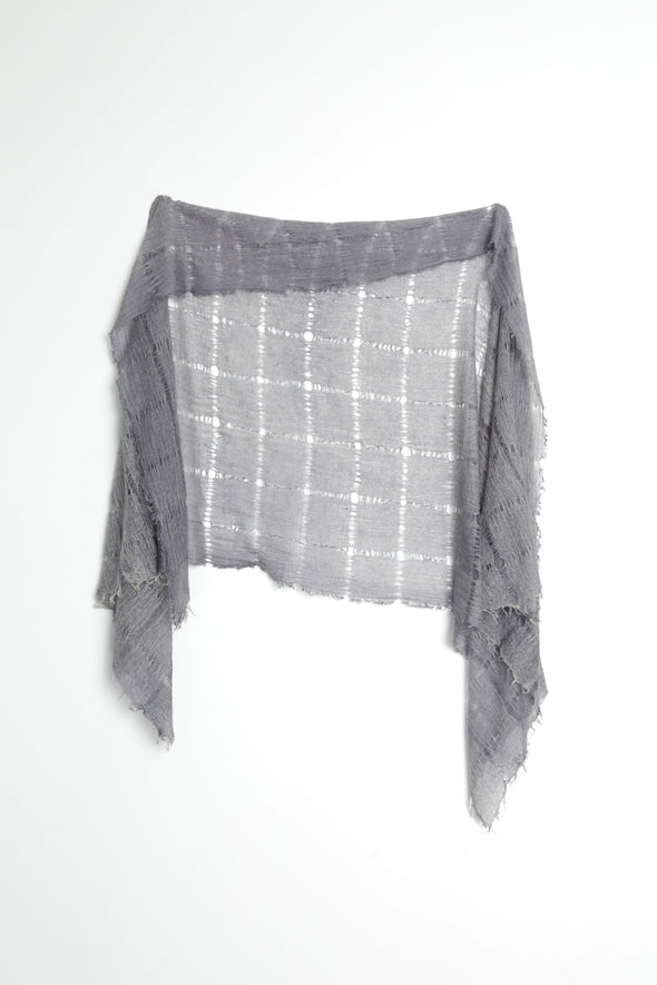 Hollow Check Scarf