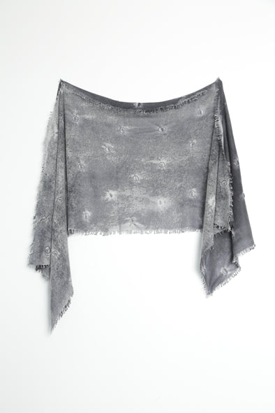 PRINTED SCARF IN CASHMERE