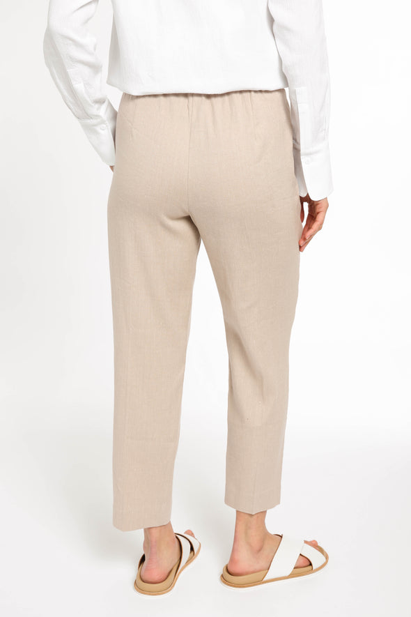 JANICE PANTS IN LINEN-COTTON