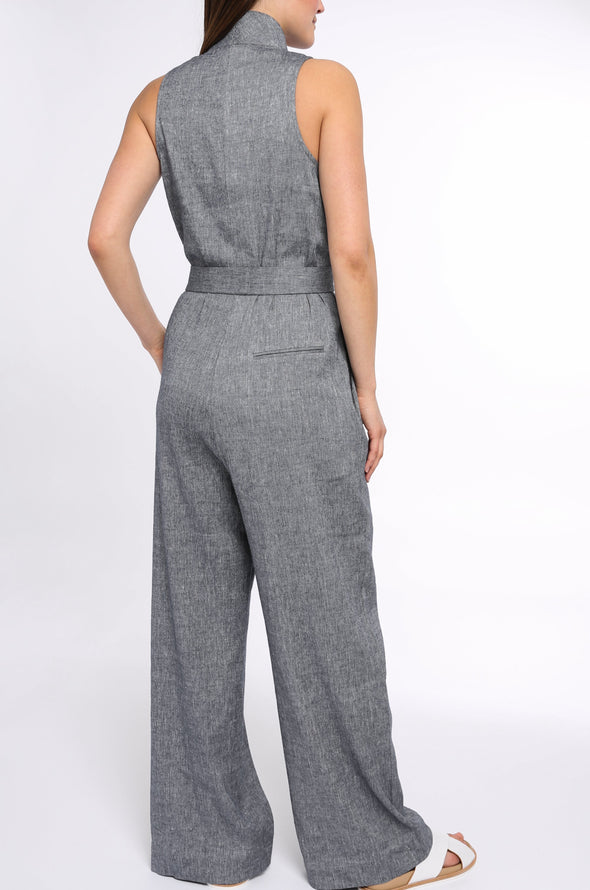 JUMPSUIT IN LINEN