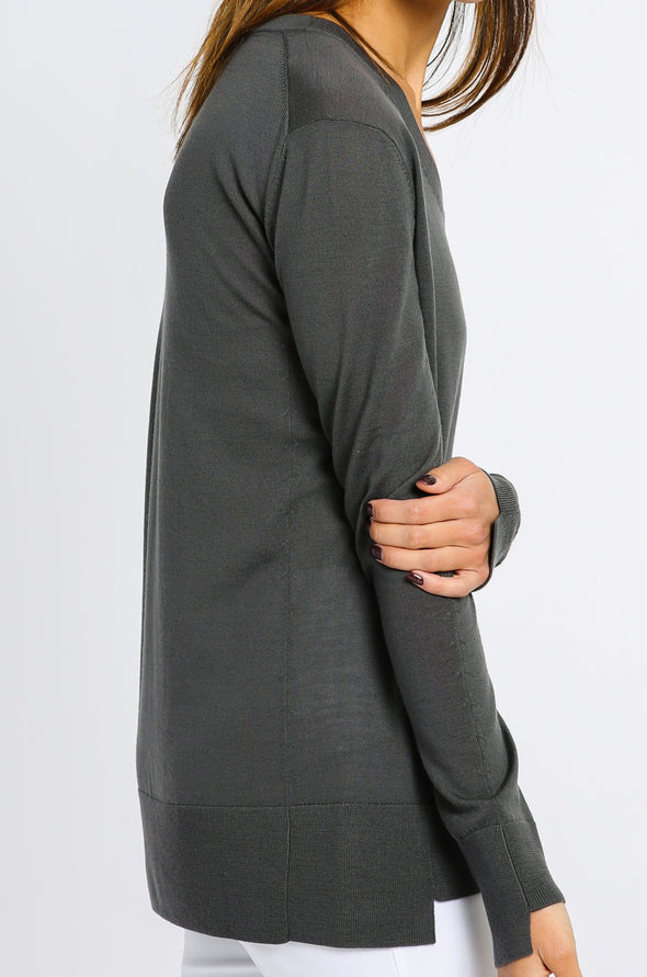 TULLA TOP IN EXRAFINE MERINO WOOL