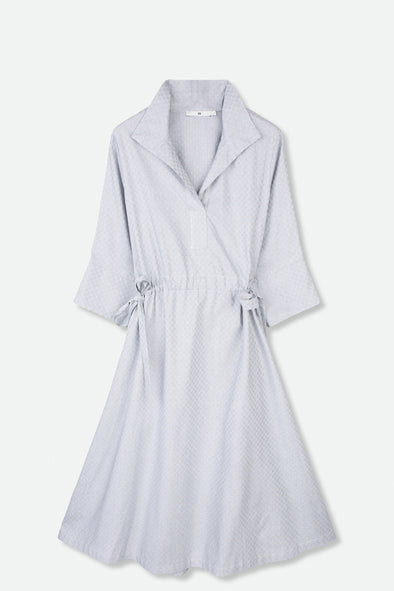 SAMANTHA DRESS IN COTTON POPLIN