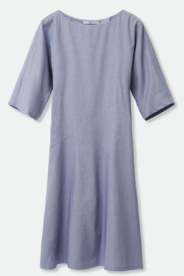 STELLA DRESS IN STRETCH COTTON POPLIN