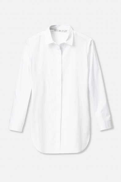 GRETTA SHIRT IN ITALIAN STRETCH COTTON