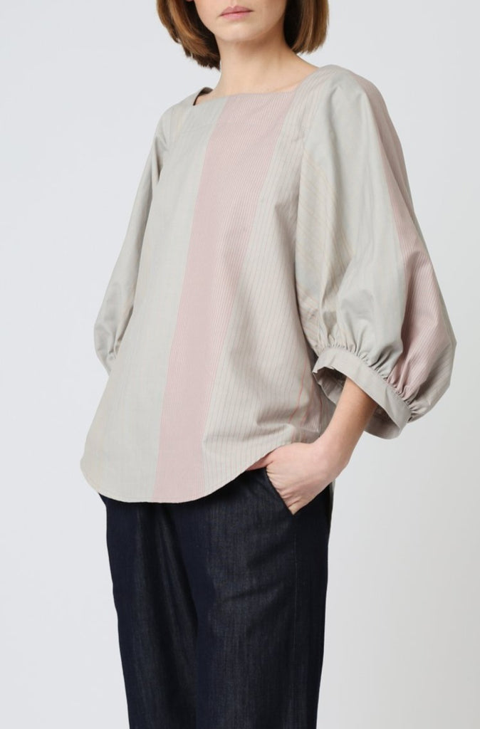 Puffy Sleeve Blouse