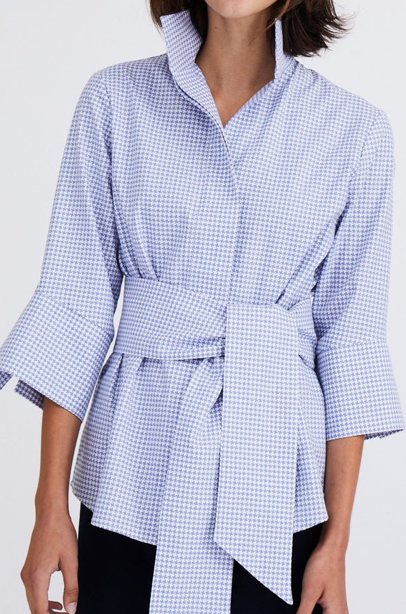MANDARINA SHIRT IN COTTON POPLIN
