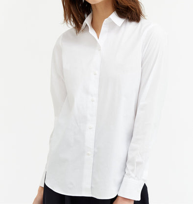 OLIDA SHIRT IN ITALIAN STRETCH COTTON