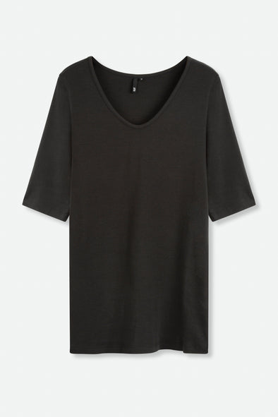 Elbow V Neck