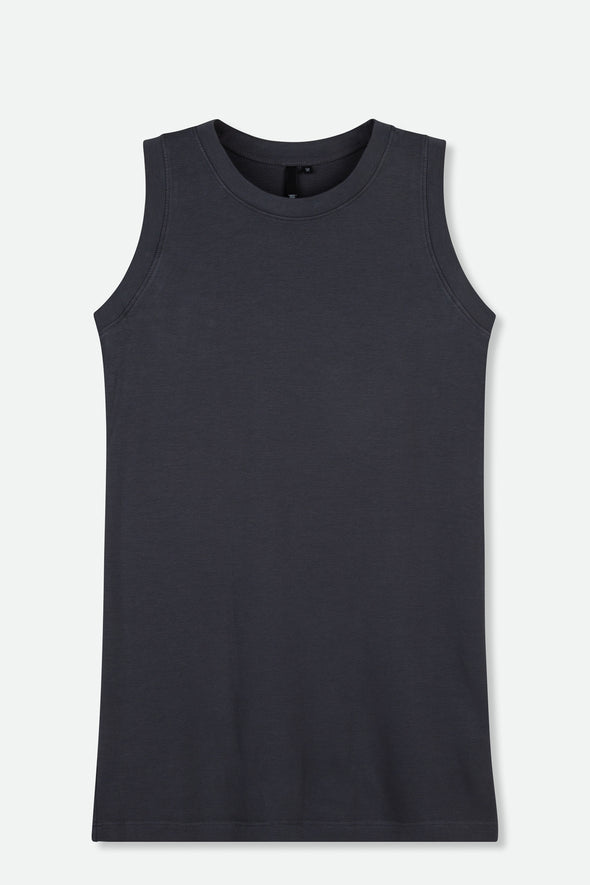 MUSCLE TANK IN PIMA COTTON STRETCH