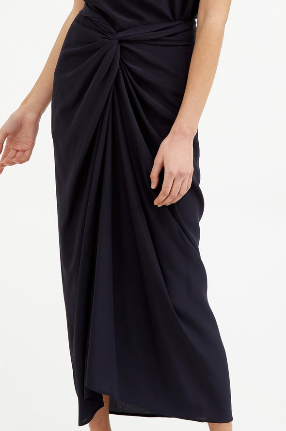 MANUELA SKIRT IN SILK CREPE DE CHINE